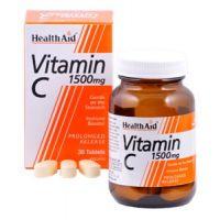 HEALTH AID VITAMIN C 1,5gr 30tabs