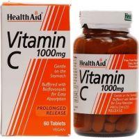 HEALTH AID VITAMIN C 1gr 60tabs -economy