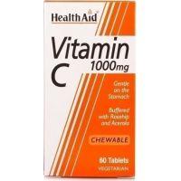 HEALTH AID VIT-C 1gr (μασώμενη) 30tabs