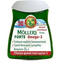 NATURE'S PLUS Moller's Forte Omega 3 Caps 60s