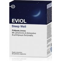 Eviol Sleep Well 60 μαλακές κάψουλες
