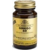 SOLGAR Ginkgo Biloba 60 veg.caps 60s