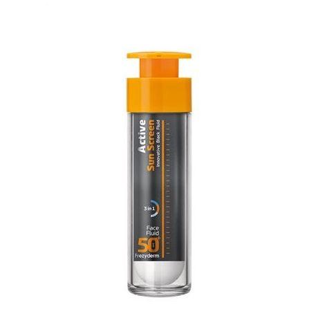 Frezyderm Active Sun Screen Face Fluid spf 50+ 50 ml