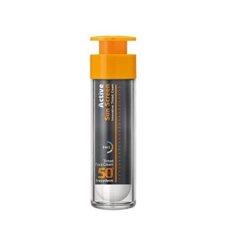 Frezyderm Active Sun Cream Tinted Face Cream spf 50+ 50 ml